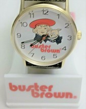 Criterion Buster Brown And Tige Mechanical Wind Up Vintage Wrist Watch  - $99.00