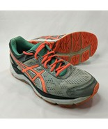 ASICS Gel Fortitude Womens Size 11 Running Shoes Gray Seafoam Coral Comf... - $27.91