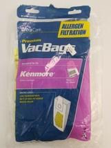 3 Kenmore Vacuum Cleaner Bags Type U O 50688 50690 5068 Allergen Micro Liner image 2