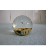 1992  Selkirk Glass Abstract  Paperweight - $39.47