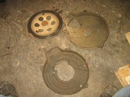 YAMAHA 1987 MOTO4 350 2X4 REAR BRAKE DISC AND GUARD  (BIN 37)  P-2998K  ... - $25.00