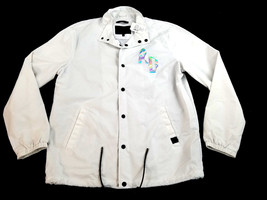 new SAKS FIFTH AVENUE men jacket Anthony Davis white size XL MSRP $198 - $46.99