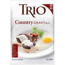 Trio Country Gravy Mix, 22 Oz Packet, Case of 8 Packets - $53.12