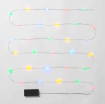 Wondershop 30 ct Battery powered Multicolored Dew Drop Christmas Lights image 4