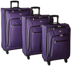 American Tourister At Pops Plus 3 Piece Nested Set, Purple, One Size - $232.25