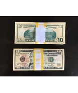 1.000 PROP MONEY REPLICA 10s All Full Print For Movie Video Films etc. - $22.99