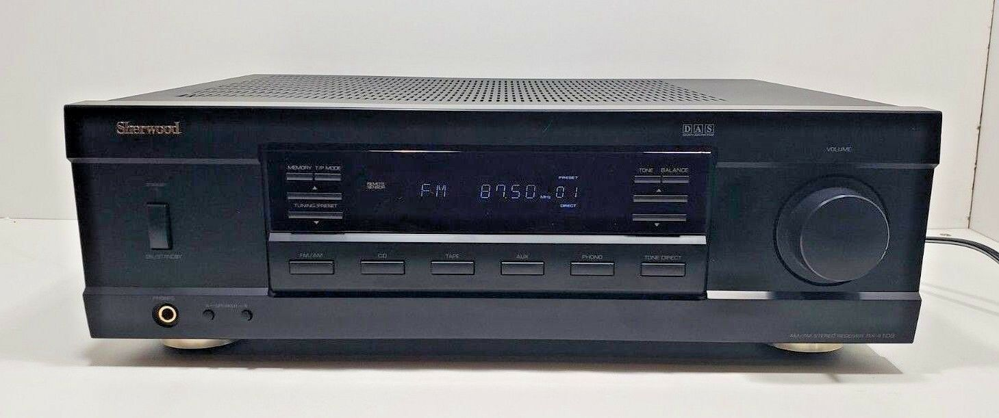 Sherwood AM/FM Stereo Receiver 2 Channel..RX-4109...Tested