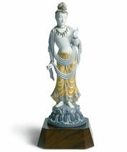 Lladro Retired Standing Buddha Statue Figurine 01001923 New in Box 1923 - $3,109.35