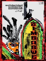 "18x24""Political World Solidarity Socialist Poster.Decor.Zimbabwe.Africa.... - $21.00"