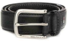 Tommy Hilfiger Men's 35MM Leather Casual Belt Black 11TL02X038 (38) New w/o Tags image 3