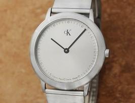 Calvin Klein K3411 34mm Men's Quartz 1990s Swiss Made Men's Watch X1062 - $395.01