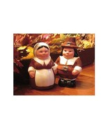 The Pilgrim Pair, Encore Edition, Animated Salt & Pepper Shakers Set Fro... - $9.50