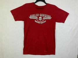 Harley Davidson Voodoo French Quarter New Orleans Shop T-shirt Size M Red - $19.77