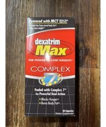 Dexatrim Max Complex 7 MCT Lose Weight Loss Blocks Hunger Burns Body Fat... - $24.99