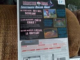 Nintendo Wii  Monster High: Skultimate Roller Maze image 2