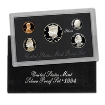 1994-S 90% Silver Proof Set United States Mint Original Government Packa... - £30.56 GBP