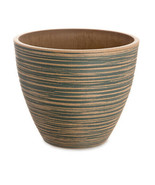 Darice Planter: Plastic - Bronze - 9.84 x 8.27 x 9.84 inches w - $24.99
