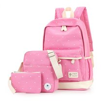 Samaz Cute Canvas School Backpacks for Teen Girls Schoolbag College Rucksack - $29.99