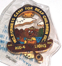 NEW Lions Club Wilderness Camp For Deaf Children CAL NEV MD-4 Boating Pi... - $13.78