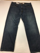 Levi's 559 Relax Straight J EAN S Size 38 X 32 Light Distress - $21.60