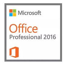MICROSOFT OFFICE 2016 PRO PLUS 32/64-BIT GENUINE LIFETIME PRODUCT KEY + ... - $18.63