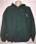 VTG Vintage 1998 NCAA Final Four San Antonio Mens Green Zip Up Jacket Xl... - $69.99