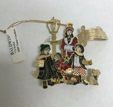 Baldwin Brass Limited Edition Ornament Xmas Christmas Carolers 2009 New - $38.61