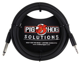 "Pig Hog PX-35T4M Solutions 3.5mm TRS to 1/4"" Mono Adapter Cable (10 ft.) - $7.95"