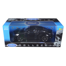 Bentley Continental Supersports Black 1/18 Diecast Car Model by Welly 18... - $86.70