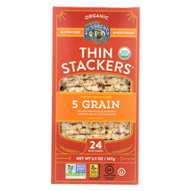 Lundberg Family Farms Organic Thin Stackers Puffed Grain Cakes - Case of... - $44.28