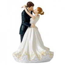 "Royal Doulton Occasions Forever Figurine Cake Topper HN5647 New 9.25"" - $158.39"