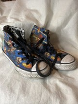 Youth Sz.13 CONVERSE All Star Justice League High Top Canvas Shoes - $11.39