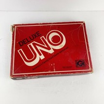 Mattel Deluxe UNO Edition Card Game Vintage 1978 Retro Family Party Complete.   - $14.84