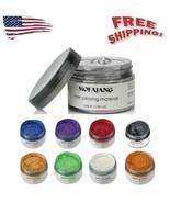 Mofajang Unisex DIY Hair Color Wax Mud Dye Cream Temporary Modeling 9 Co... - £4.29 GBP+