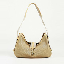Gucci Perforated Leather Shoulder Bag - $260.00