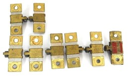 LOT OF 8 SQUARE D HEATER ELEMENTS B.22, B4.85, B.14