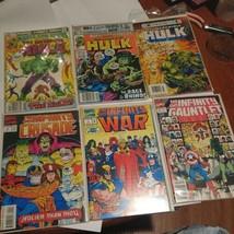 Incredible Hulk And Infinity War Lot Of 10 Marvel Comics - $23.52