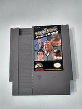 WWF WrestleMania Challenge NES 1990 Video Game *Not Tested* - $4.95