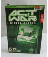 Act of War Direct Action PC Game DVD Rom Edition Windows 2000/XP  - $15.00