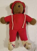 North American Bear Company 1979 Albert the Running Bear Plush Stuffed T... - $14.69