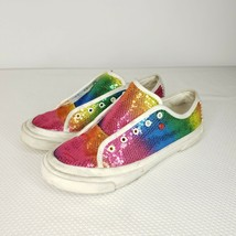 I love Ugg Rainbow Sparkle Sneakers White Women's Size 7 - $44.51