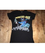 OZZY OBOURNE MONSTERS OF ROCK CALGARY 2008 BLACK S/XS T SHIRT - $14.25