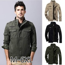 Men's Autumn and Winter Cotton Coat Outdoor Windproof Waterproof Warm St... - $51.00