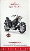 2016 Hallmark Keepsake Ornament - 1980 FXB Sturgis Harley-Davidson Motor... - $32.96