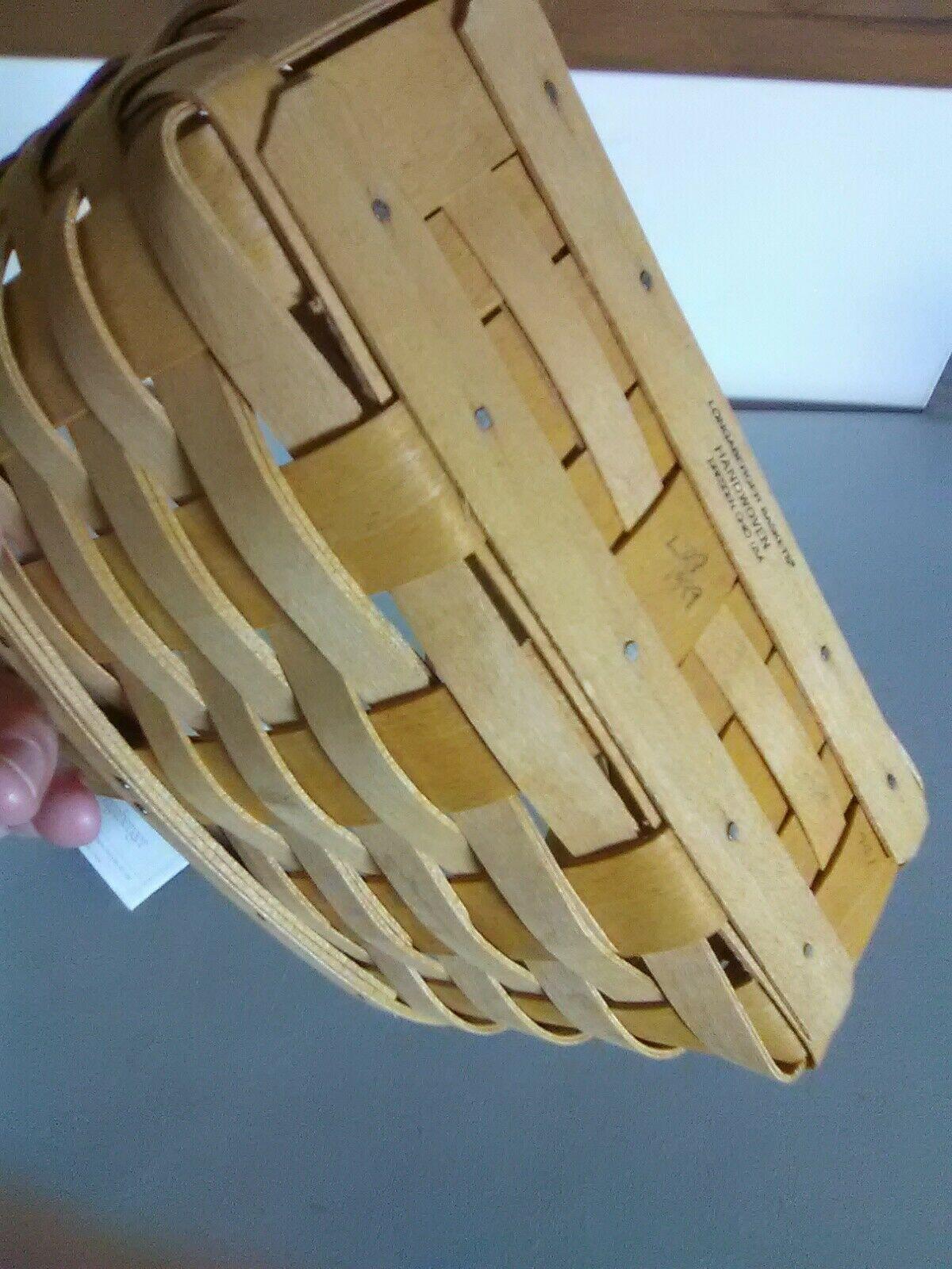 Longaberger Fixed Handle Candle Basket - 1999 image 7