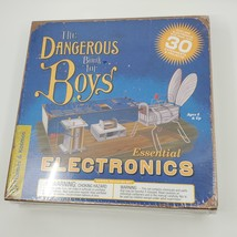 The Dangerous Book for Boys Essential Electronics NEW SEALED  - $25.00
