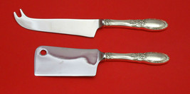 Old Mirror by Towle Sterling Silver Cheese Server Serving Set 2pc HHWS  Custom - $110.30