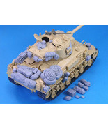 Sherman medium tank bag not have tank Historical toy Resin Model Miniatu... - $26.00