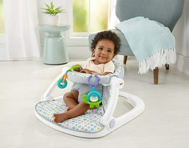 Toddler Easy Sit-Me-Up Deluxe Floor Play Seat Bouncer Supports Upright P... - $62.36