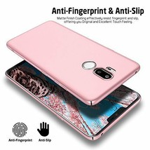 LG G7 ThinQ Case Hard PC Cover Scratch Resistant Slim Shockproof Matte P... - $19.63